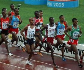 Eritrea - Meb running for USA vs. African runners