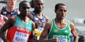 Ethiopia, Kenya - Kenenisa Bekele and Eliud Kipchoge duel in 2012 (Runners World)