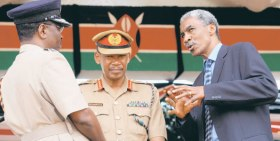 Major-General Michael Gichangi led the Kenyan intelligence agency from 2006 until quitting today for personal reasons. (Photo: Liz Muthoni)