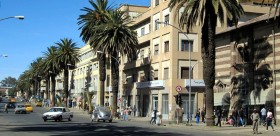 Eritrea - Martyrs' Avenue, Asmara (Wikimedia Commons)