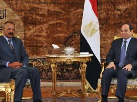 Eritrea - President Isaias and Egyptian President Al-Sisi meet