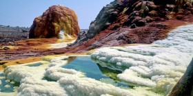 Ethiopia - Dallol springs geothermal region (AP)
