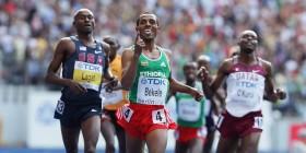 Ethiopia - Kenenisa finishes 1st