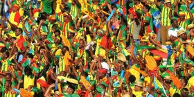 Ethiopia - National soccer team fans celebrate in 2013 (Reuters)