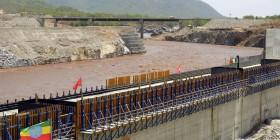 Ethiopia - The Grand Renaissance Dam under construction (The Guardian)