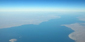 Kenya - Aerial view of Kenya-Somalia maritime border (Wikimedia Commons)